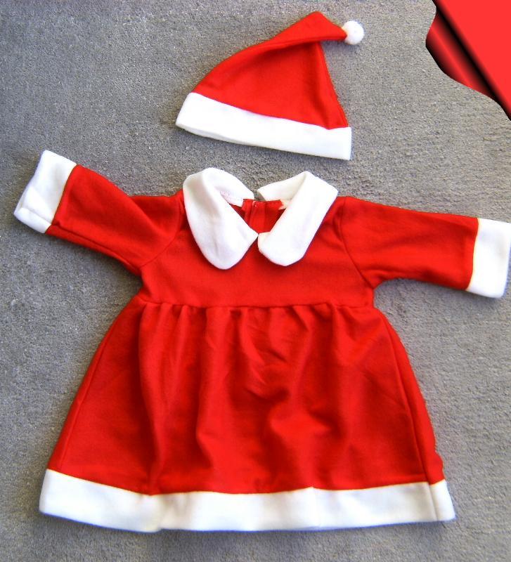 weihnachtskost m weihnachtskleid u m tze 2tlg baby m dchen. Black Bedroom Furniture Sets. Home Design Ideas