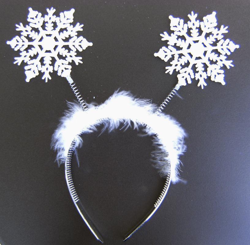 haarreif schneeflocken weihnachten engel haarschmuck 1326. Black Bedroom Furniture Sets. Home Design Ideas