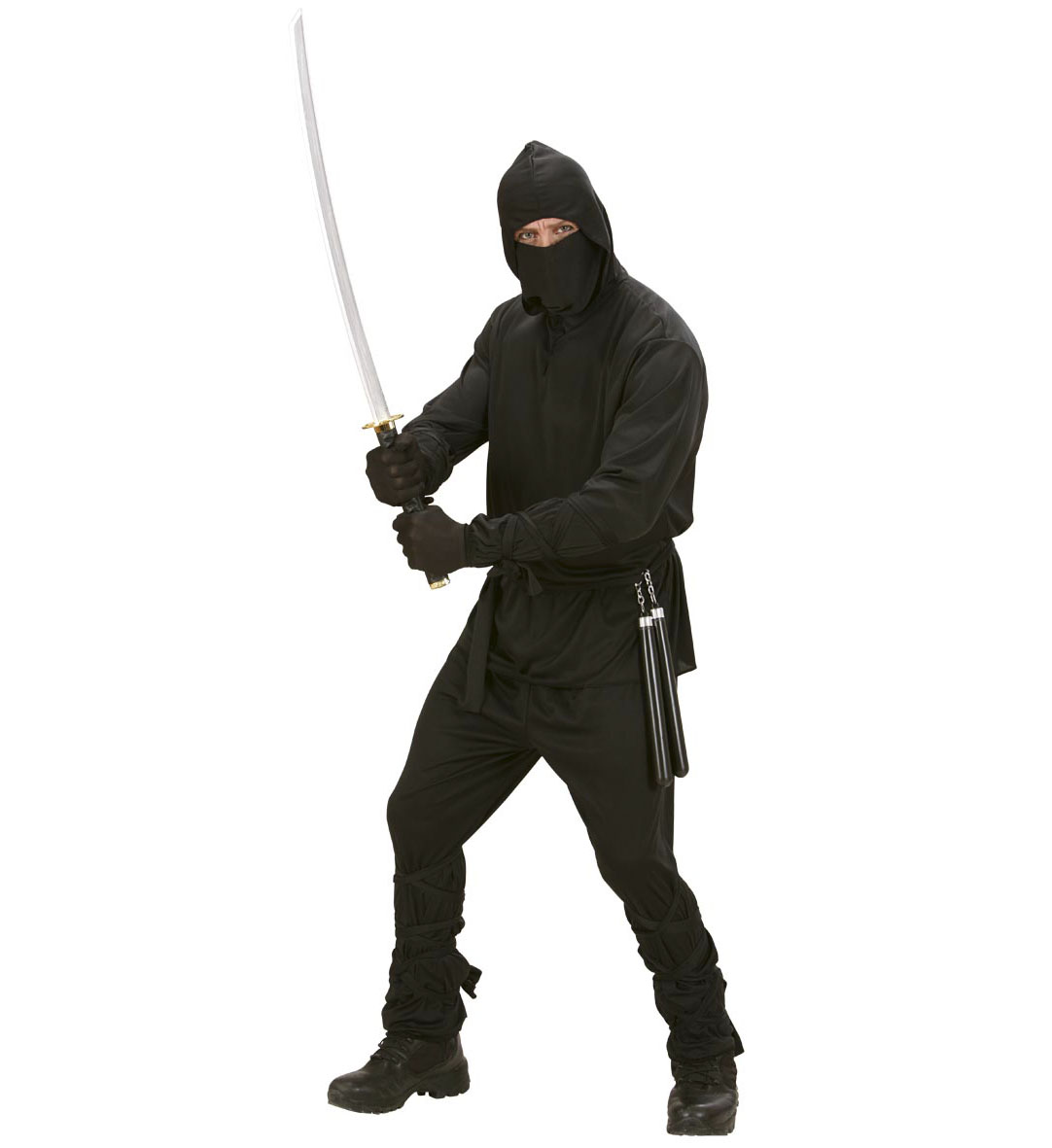 5 tlg ninja kost m ninjakost m samurai herren s 48 m 50 l 52 ebay. Black Bedroom Furniture Sets. Home Design Ideas