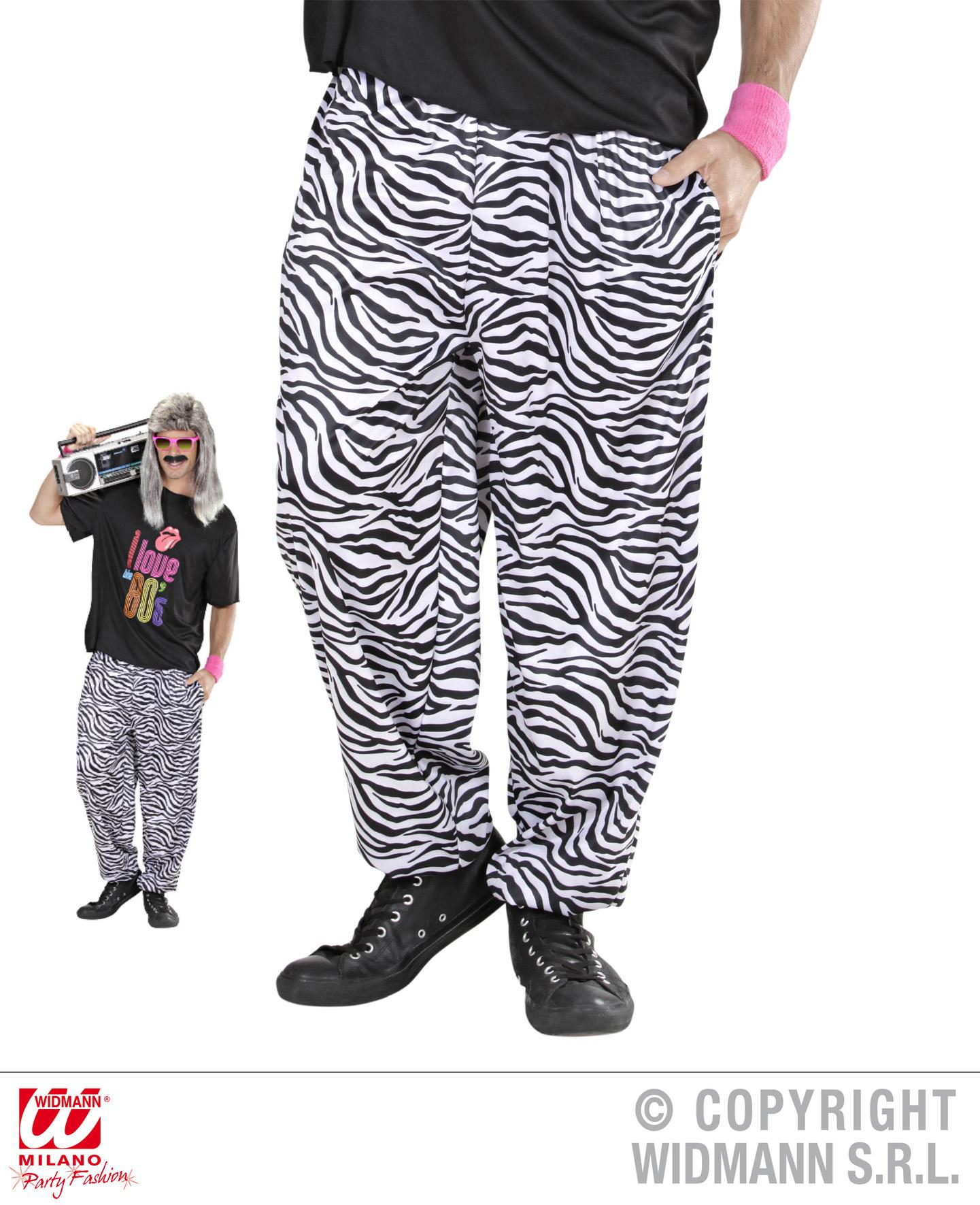80er 90er jogginghose trainingshose wei schwarz zebra m l l xl 9882. Black Bedroom Furniture Sets. Home Design Ideas