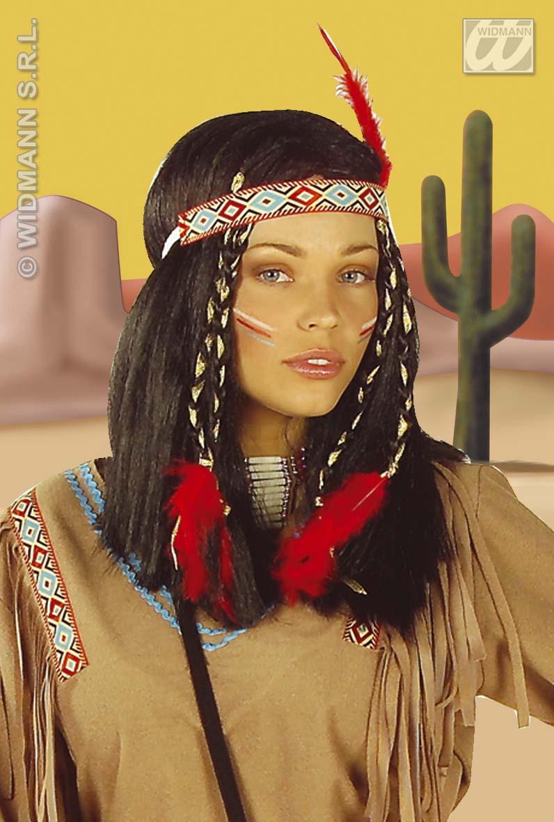 indianerin kost m squaw indianer 3 tlg karneval s m l xl 4336. Black Bedroom Furniture Sets. Home Design Ideas