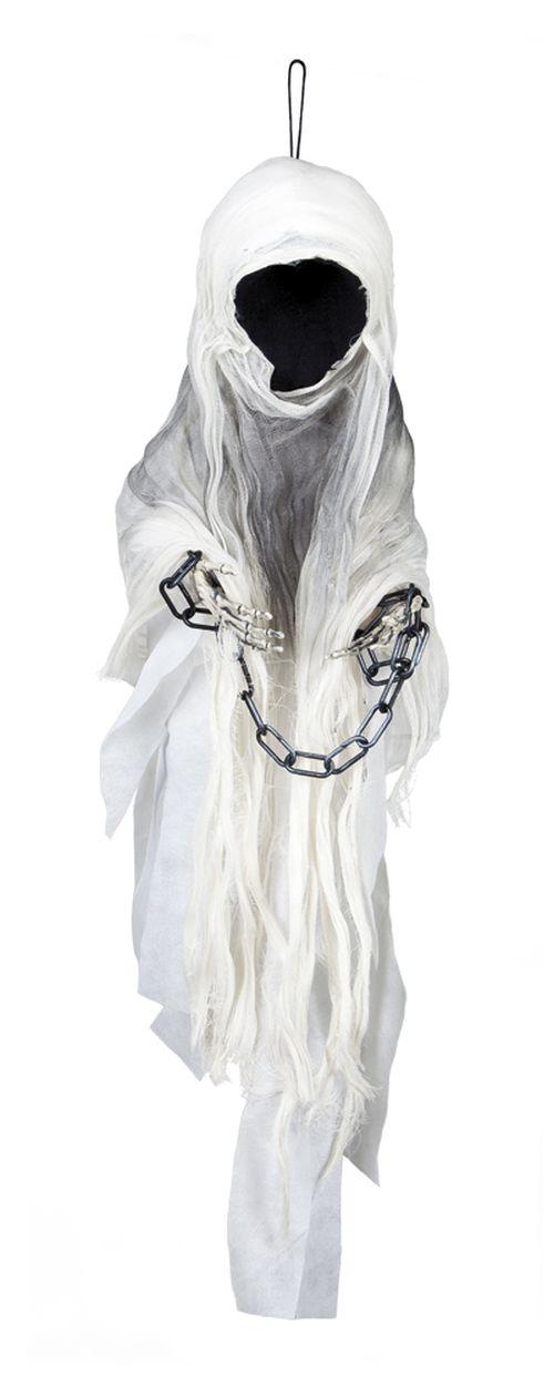 Deko Figur Gesichtsloser Tod Geist z. hängen, Halloween ca 100 cm