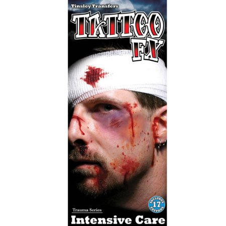 17 TATTOO FX face Gesicht Schürfwunden Cut Theaterqualität Effekte Schminke