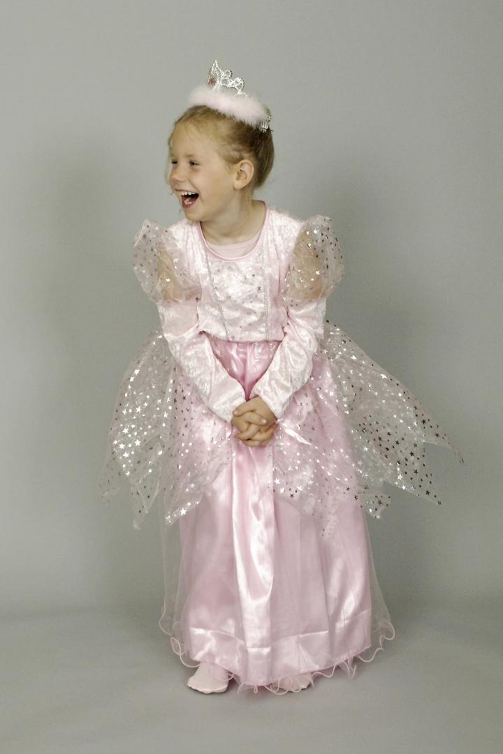 Prinzessin Kleid Mädchen Rosa 116 128