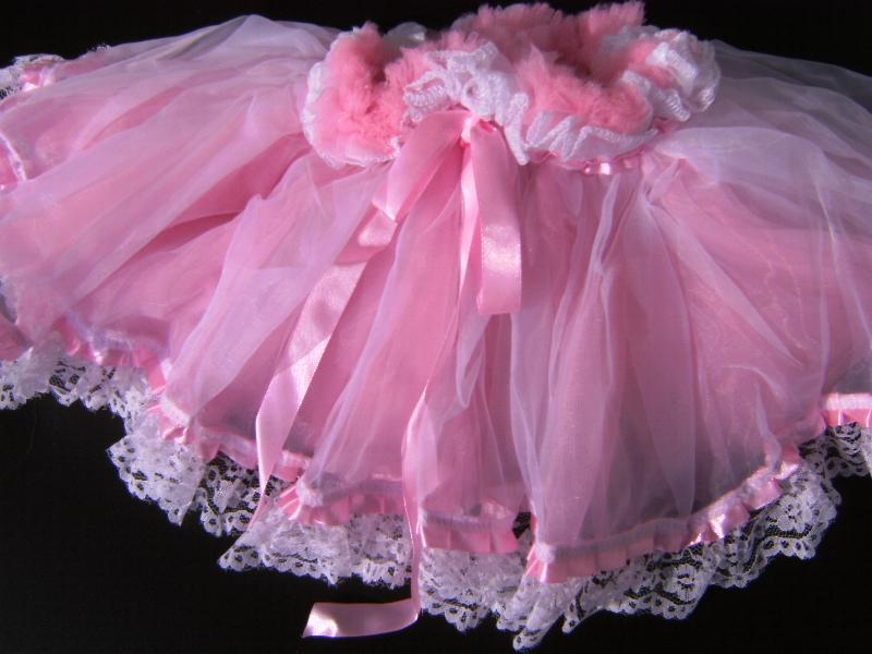 PETTICOAT hochwertig, 5-lagig Kinder Unterrock 25 cm, rosa o. blau