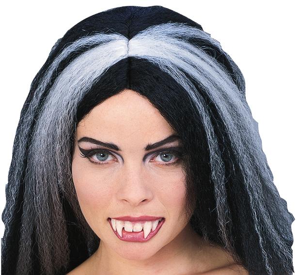 Vampir Zähne, Gebiss Vampirzähne, Dracula Vampira Damen Filmqualität