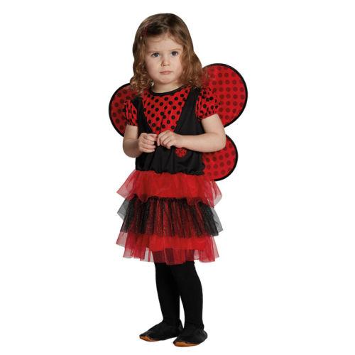 Marienkäfer Kostüm Kinder 104, 116, 128 Karneval Mottoparty