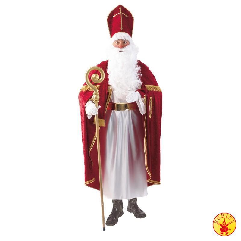 Bischof, St. Nikolaus,Weihnachtsmann Kostüm, Mitra edle Ausführung L-XL