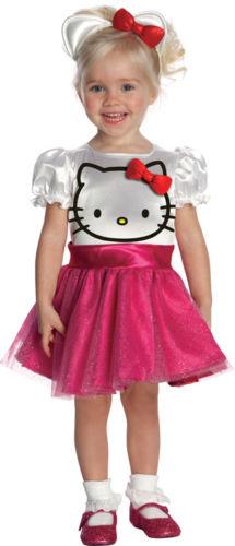 Hello Kitty Kostüm Mädchen Gr. 92, 104, 116-128, 140,152 LIZENZ