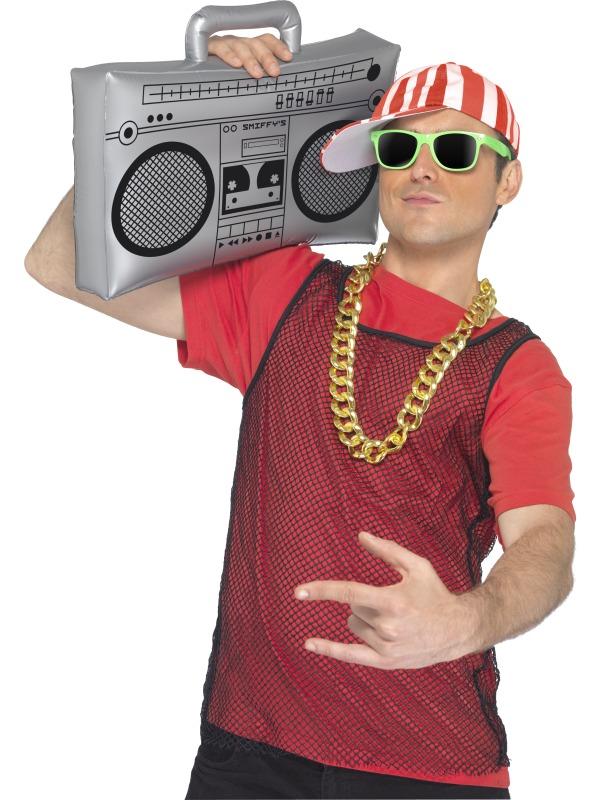 Ghetto Blaster Radio 50 cm, aufblasbar, Mottoparty, Karneval