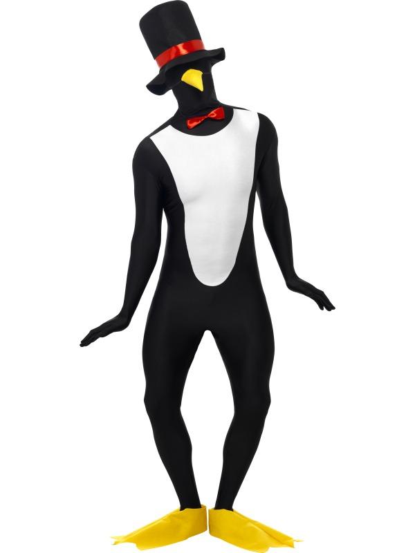 GANZKÖRPER Kostüm, PINGUIN + Zubehör Second Skin,M,  L, XL  2017