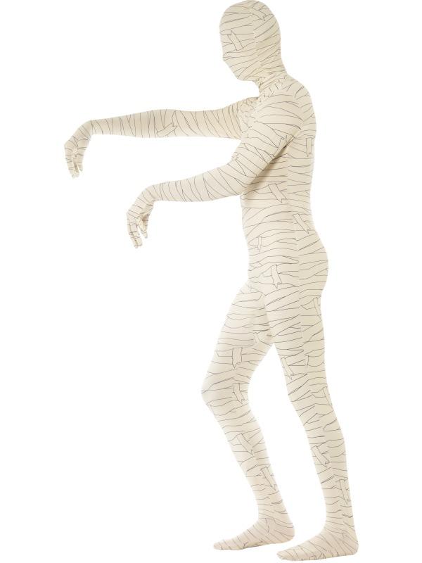 GANZKÖRPER Kostüm, MUMIE, Second Skin, M, L, XL