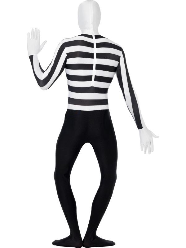 GANZKÖRPER Kostüm, PANTOMIME, Second Skin, M, L, XL