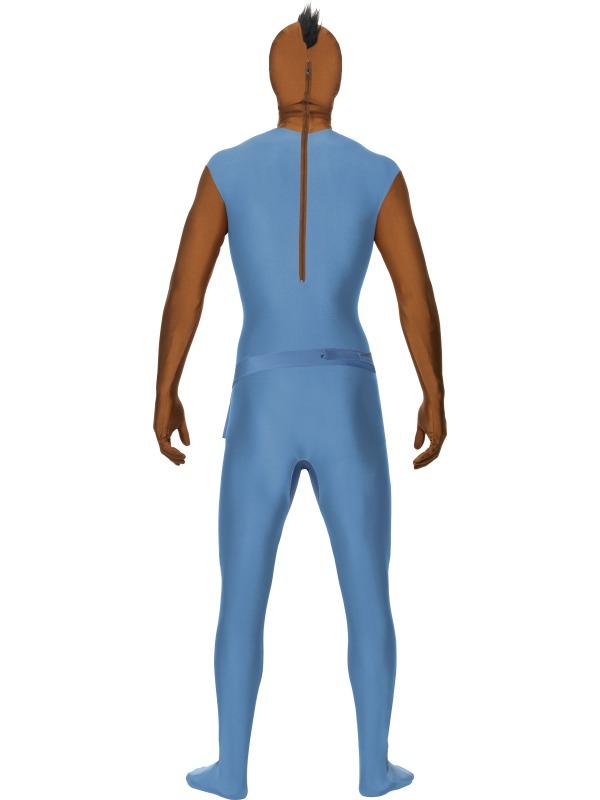 GANZKÖRPER Kostüm Anzug,80er, Mr. T, Team Second Skin Gr. M u. L