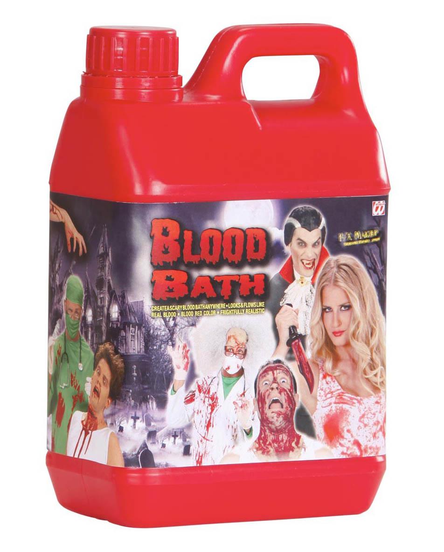 Blut- KANISTER, Theaterblut, Kunstblut 2 Liter Halloween, Deko  4025