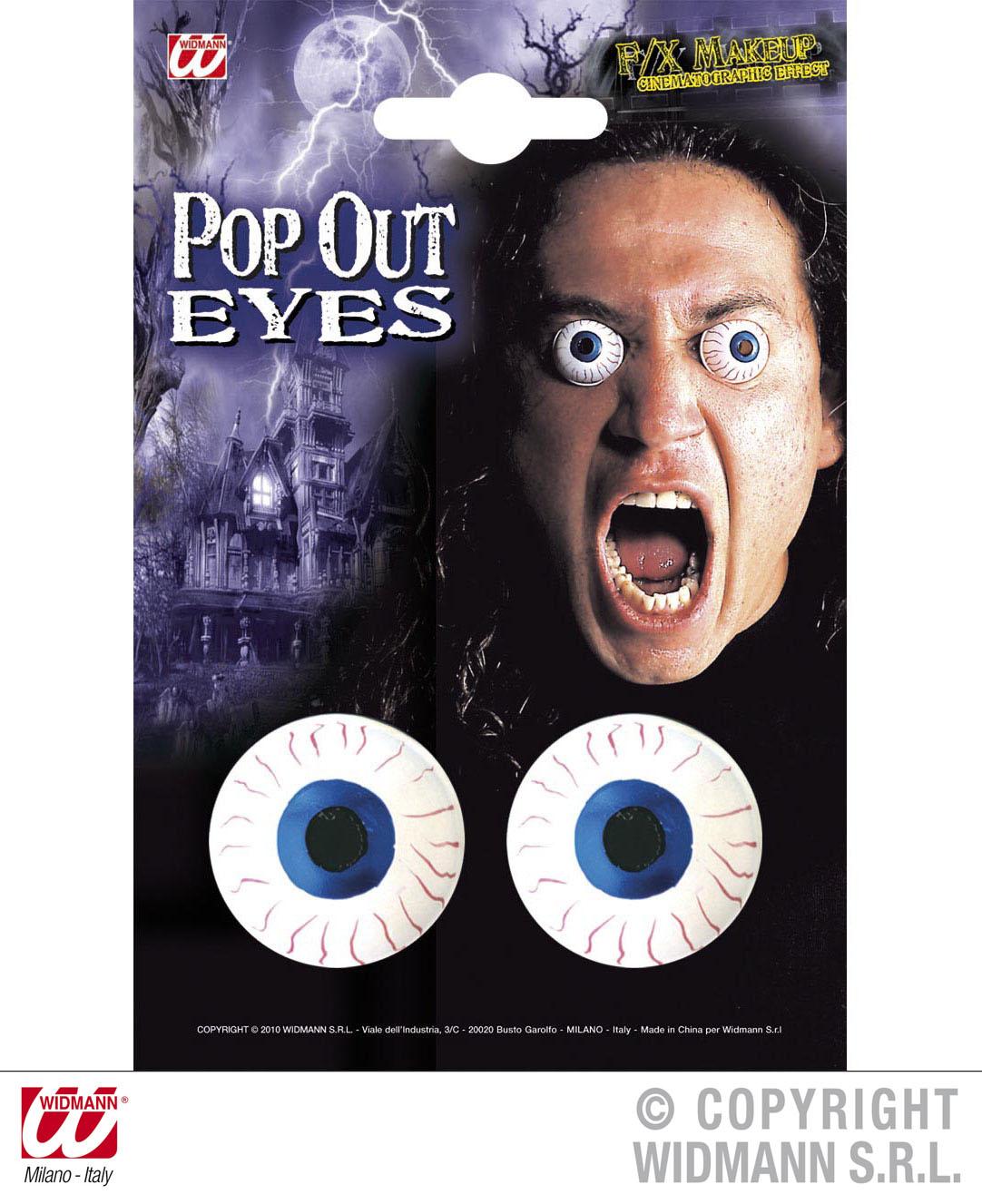 Effekte: hervorstehende Augen, popout Eyes Grusel, Halloween