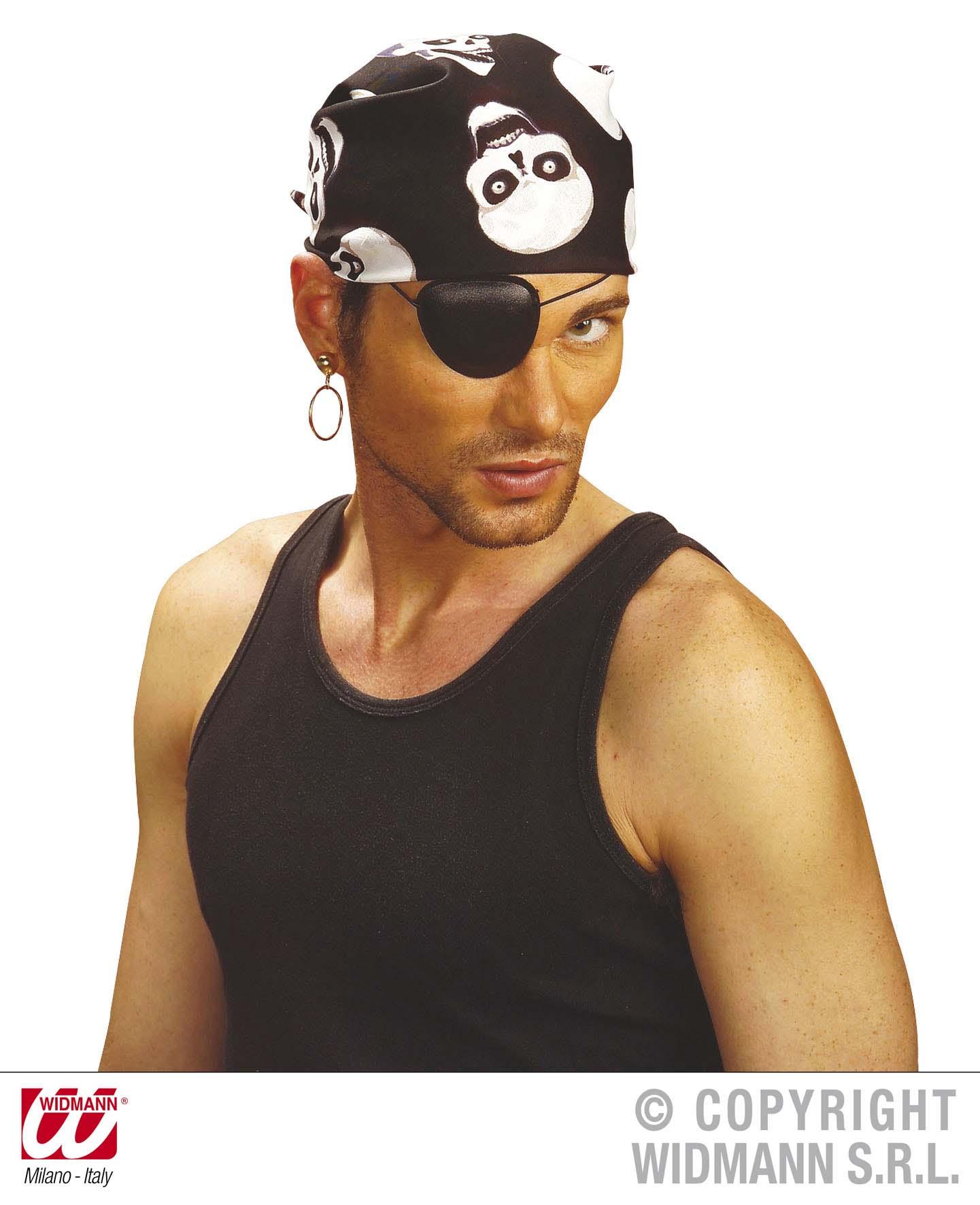 Piratenkopftuch,Piraten Tuch, Bandana Totenkopf Halstuch Herren Damen