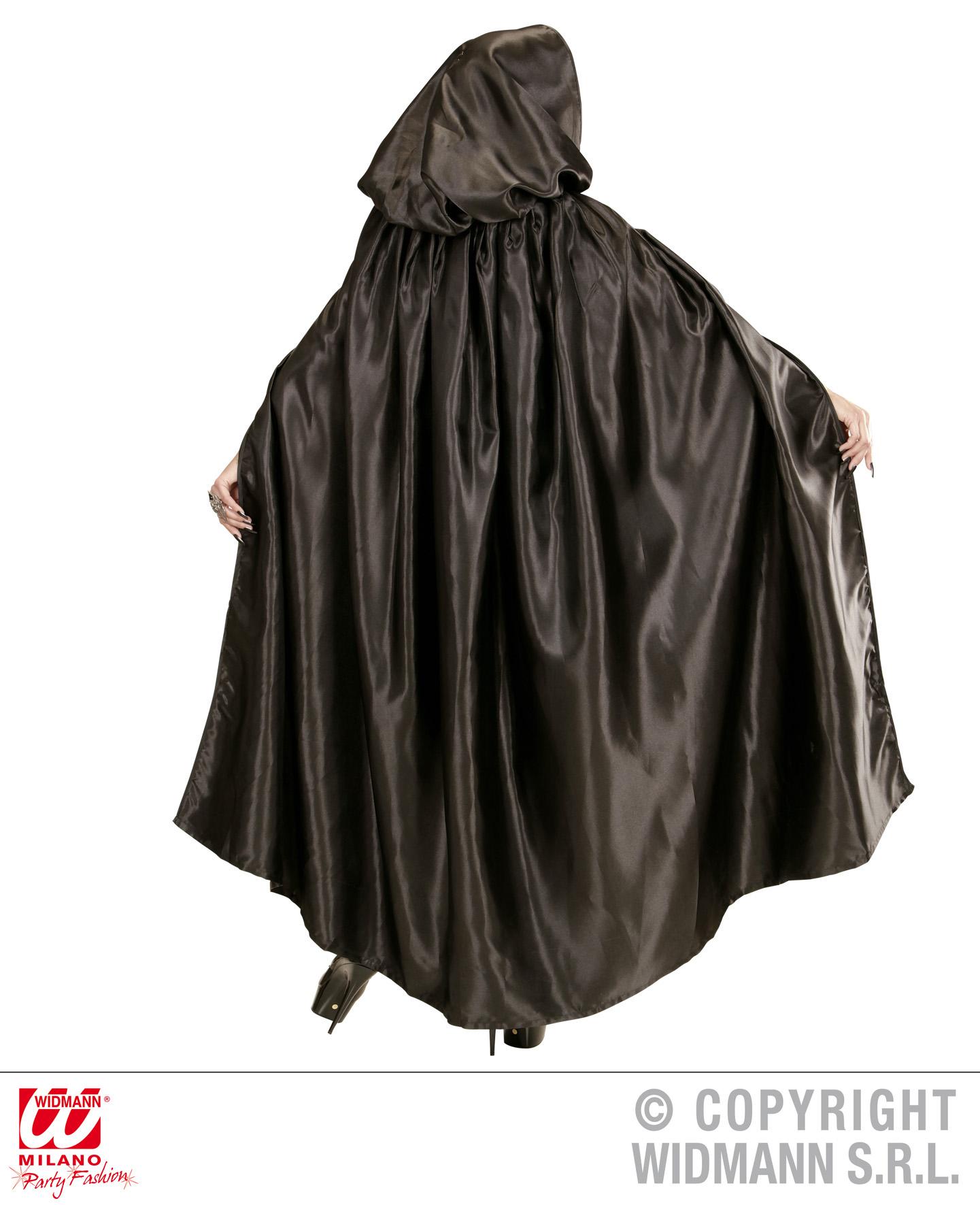 schwarzer umhang cape kapuze vampir venezia mittelalter damen herren. Black Bedroom Furniture Sets. Home Design Ideas