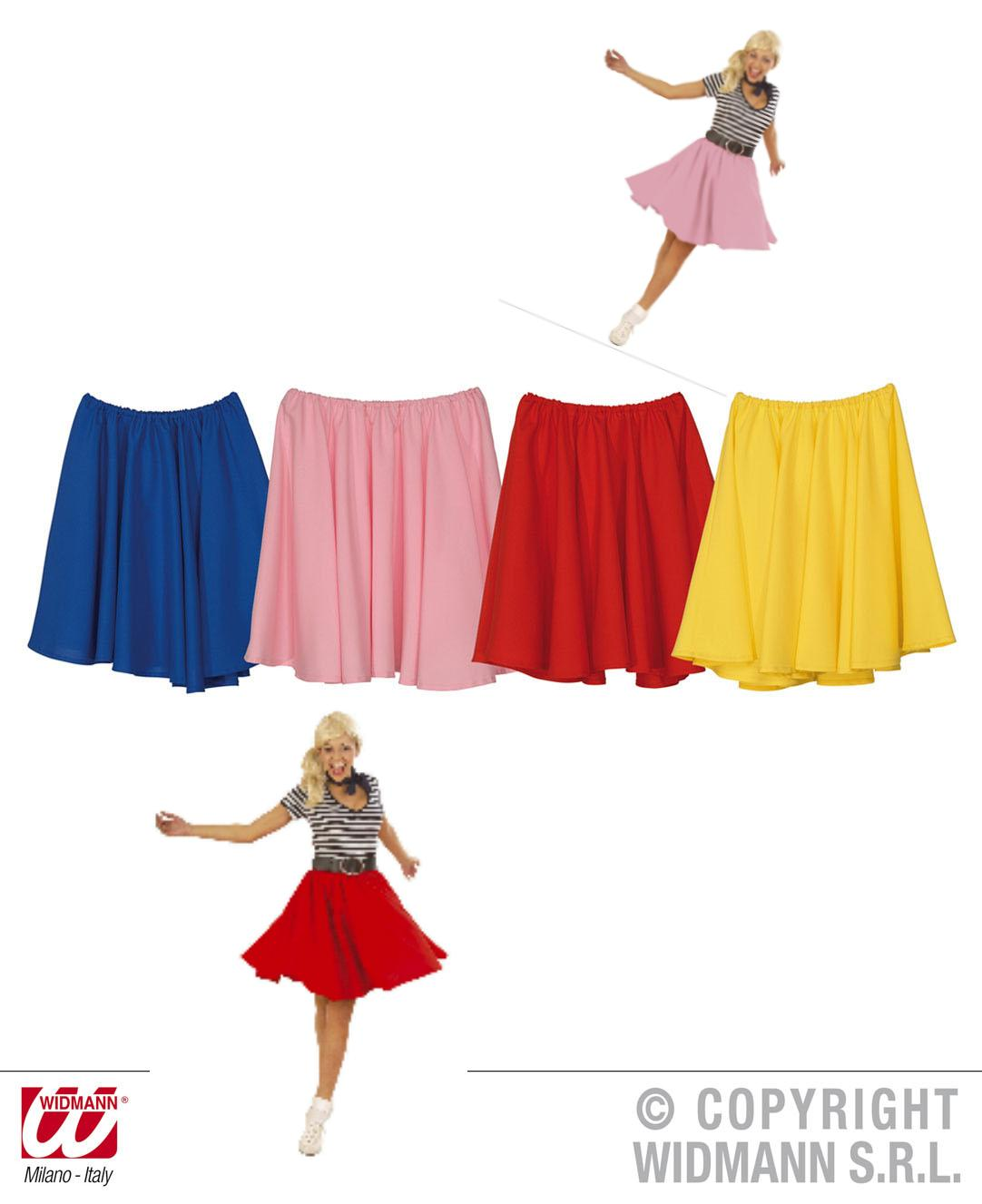 elegant und anmutig Verkauf Einzelhändler Rabatt-Verkauf Rock N Roll Rock, Damen, 50er Jahre, Gr. S - M, rot ,blau ...