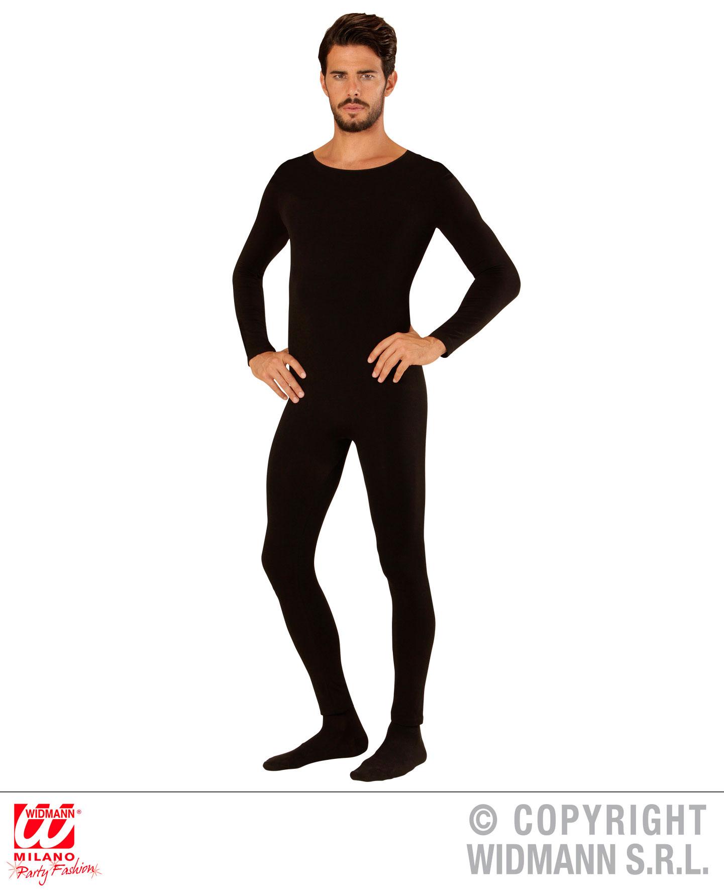 Herren Overall, Einteiler Body Jumpsuit, Sport Tanz schwarz, Herren, M, L, XL