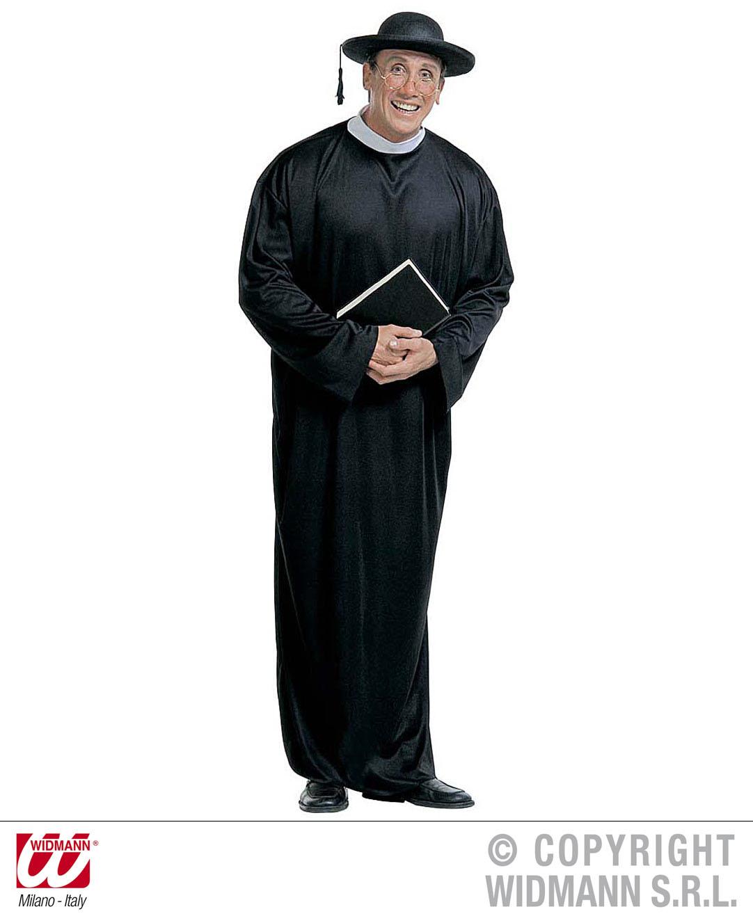 Priester Pfarrer, Pastor, Gewand, Kostüm, Gr. M, L, XL  3901
