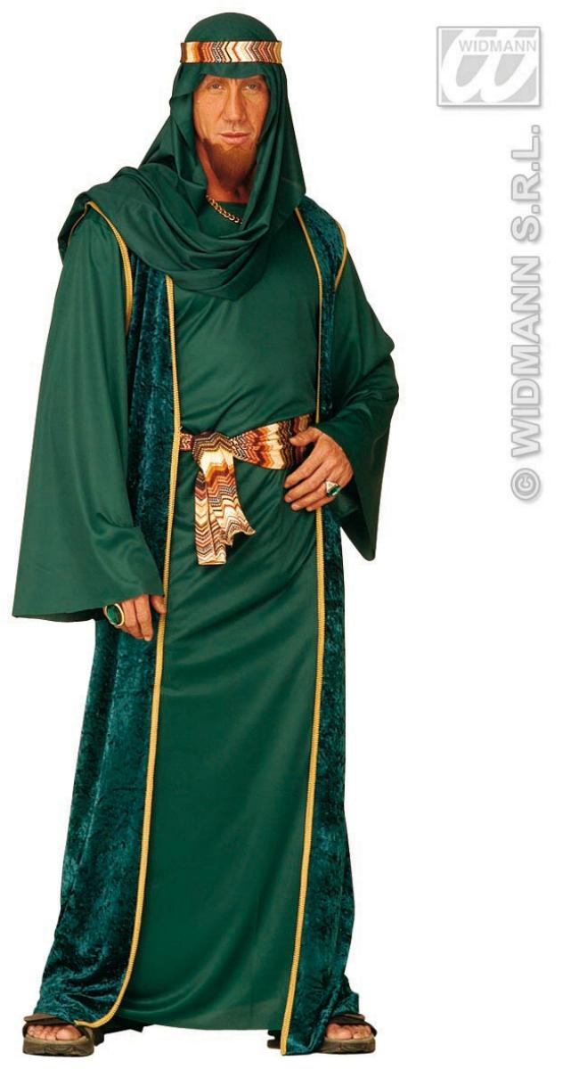 Araber Kostüm, Öl Scheich, Karneval, Motto schwarz, grün, braun Gr. XL