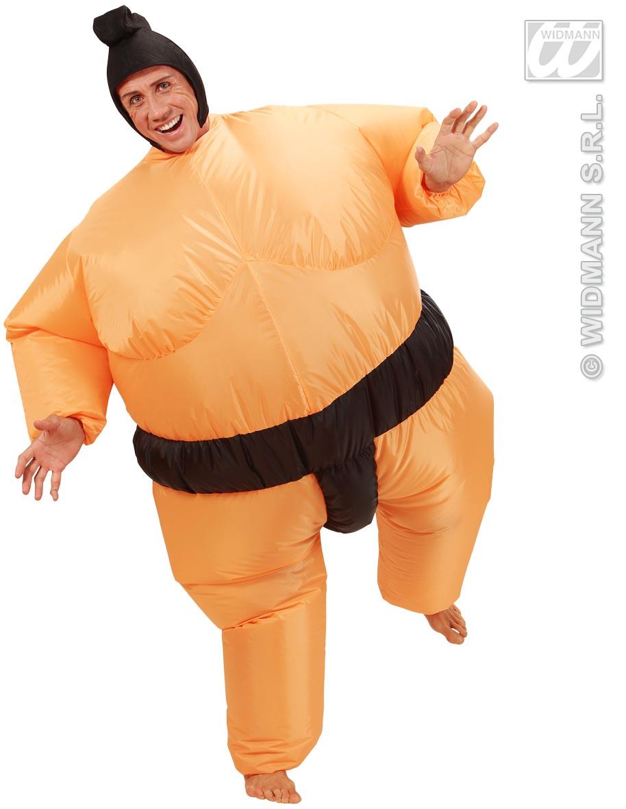 CARNEVALE 7552 Ringer gonfiabile Costume gonfiabile sumo