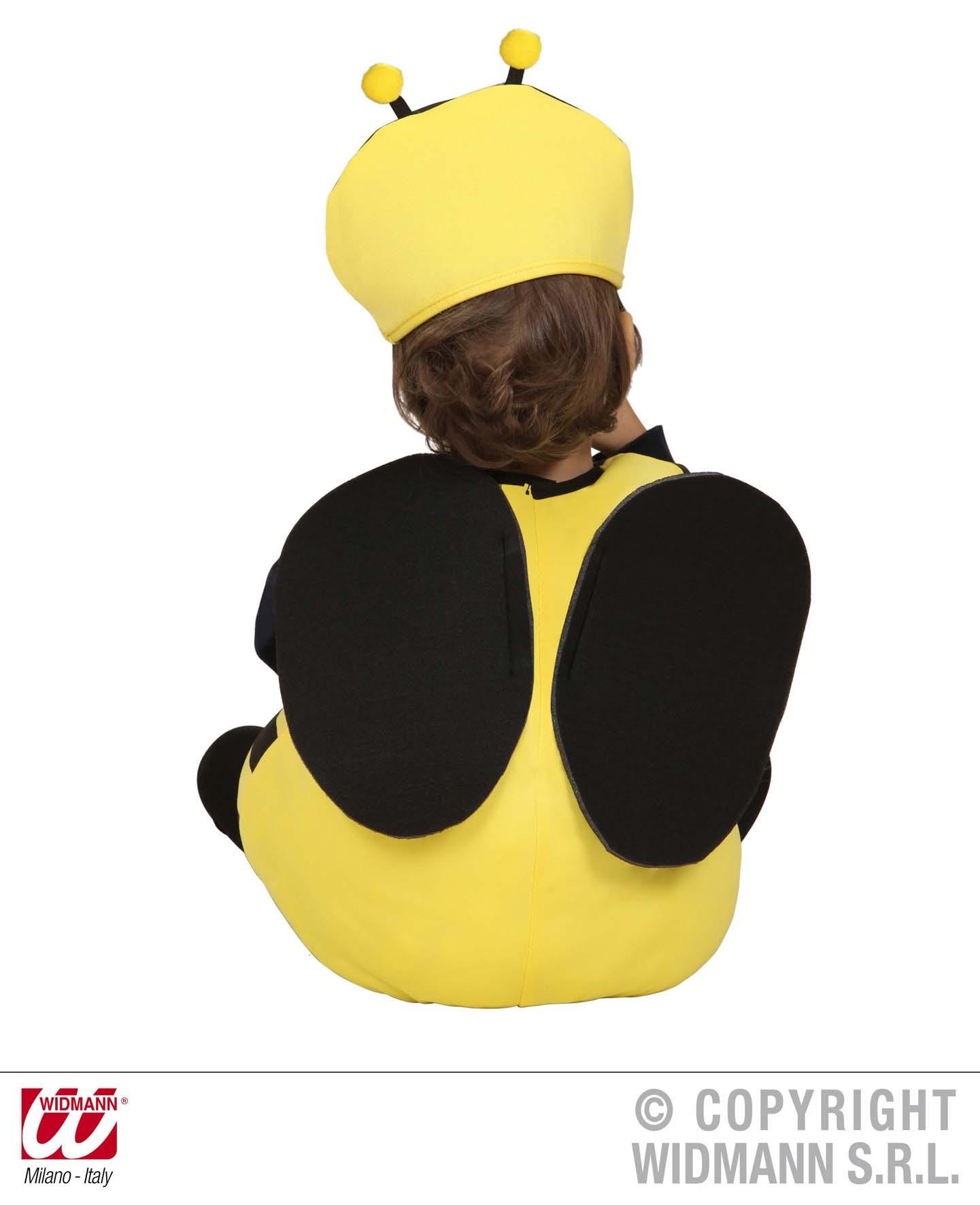 2 tlg. Kostüm Bienen, Kinder Kleinkinder 80-86, 1-2 Jahre,Karneval 1891