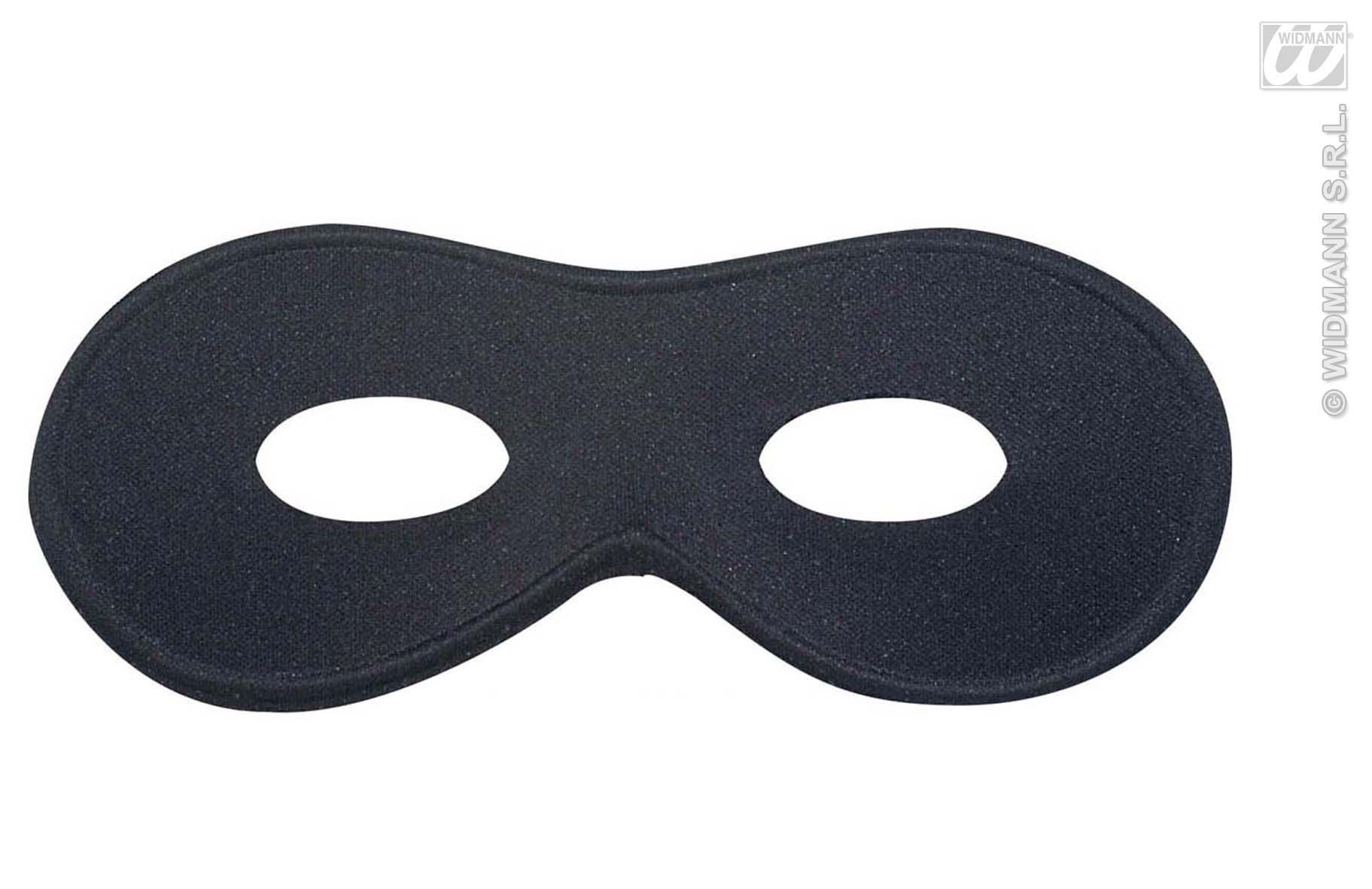 Schwarze Augenmaske, Pirat, Banditen, Gangster Cowboy, Erwachsene
