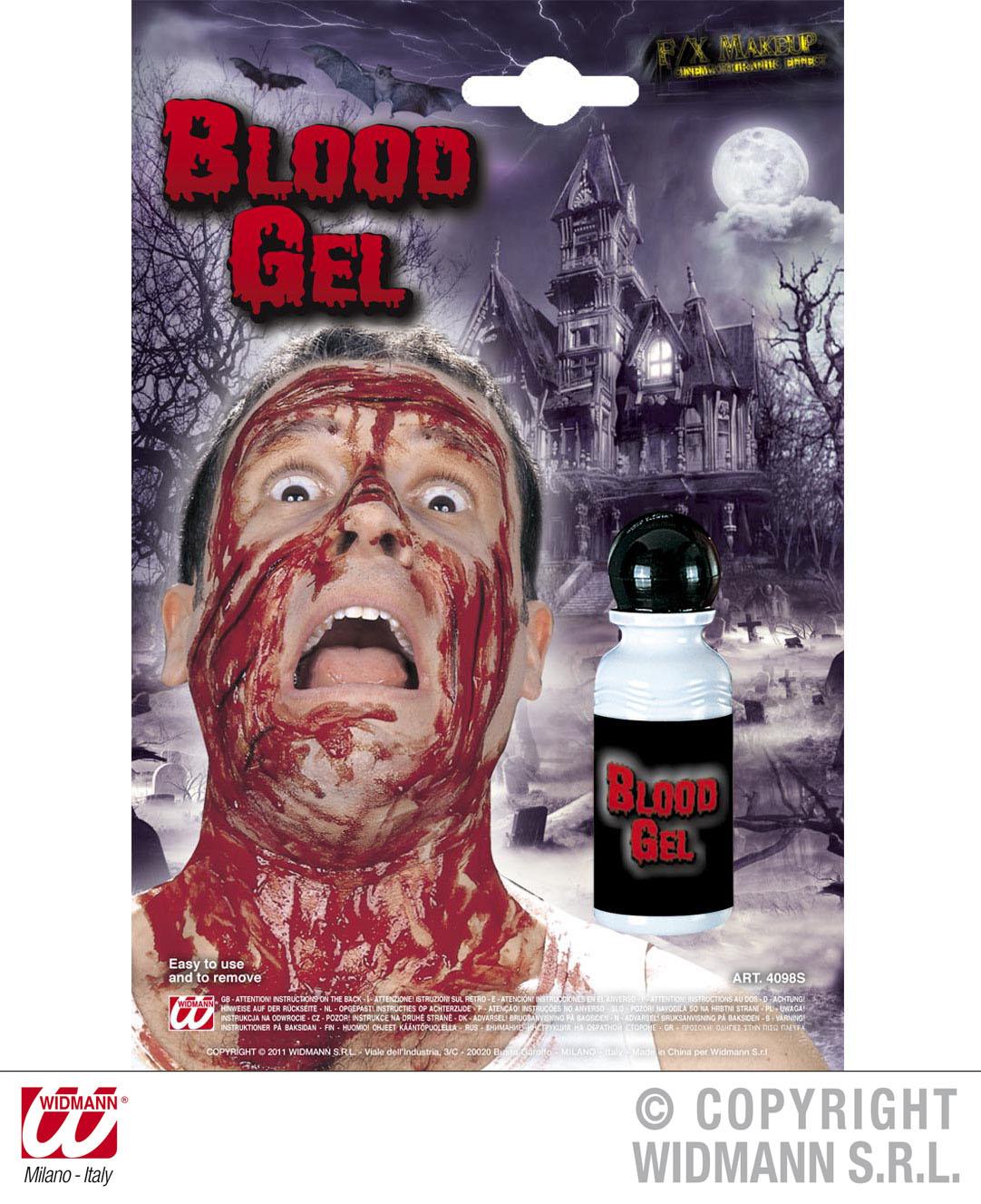 Blutgel  Filmblut Theaterblut, Blut Flasche  Grusel HALLOWEEN   4098