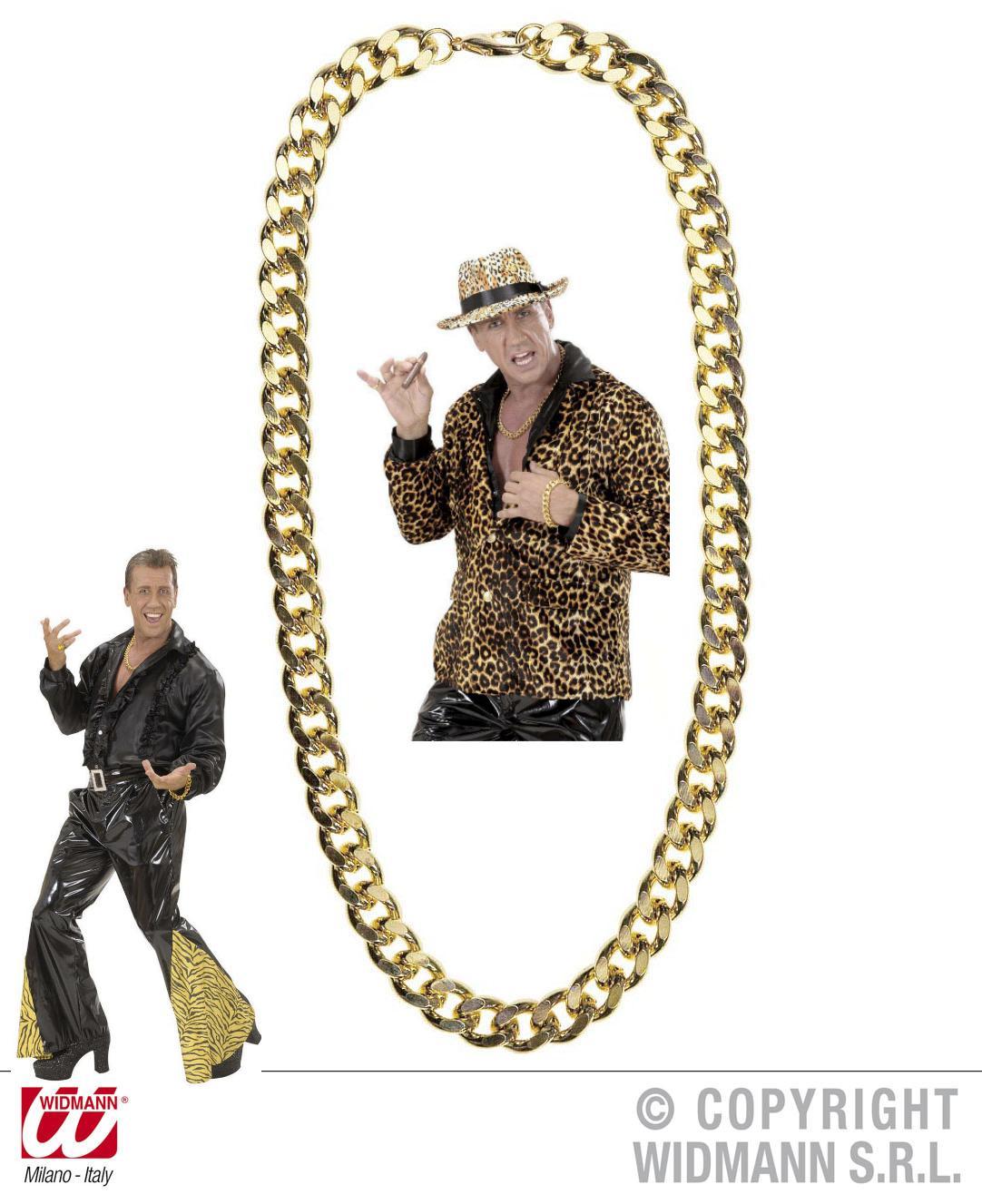 Goldkette schwer 80er Jahre, ca 60 cm lang,Ganster, Rapper, Scheich 2667
