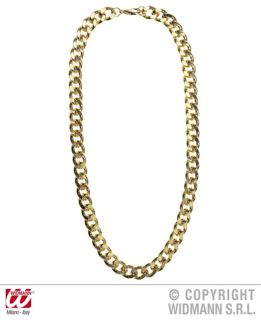 Goldketten rapper  Goldkette schwer 80er Jahre, ca 60 cm lang,Ganster, Rapper ...