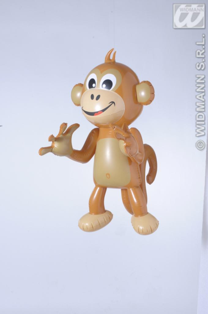 Deko Affen,Äffchen, 50 cm, 90 cm, aufblasbar