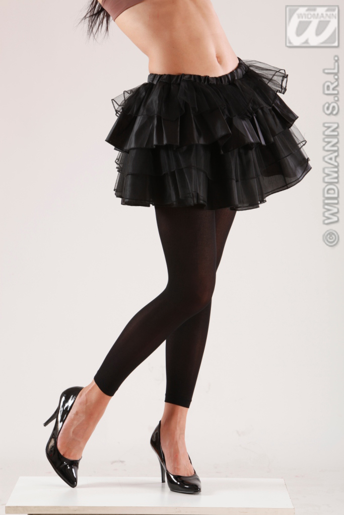 Leggin 70 DEN, schwarz 36-38 Damen, Strumpfhose ohne Fuß