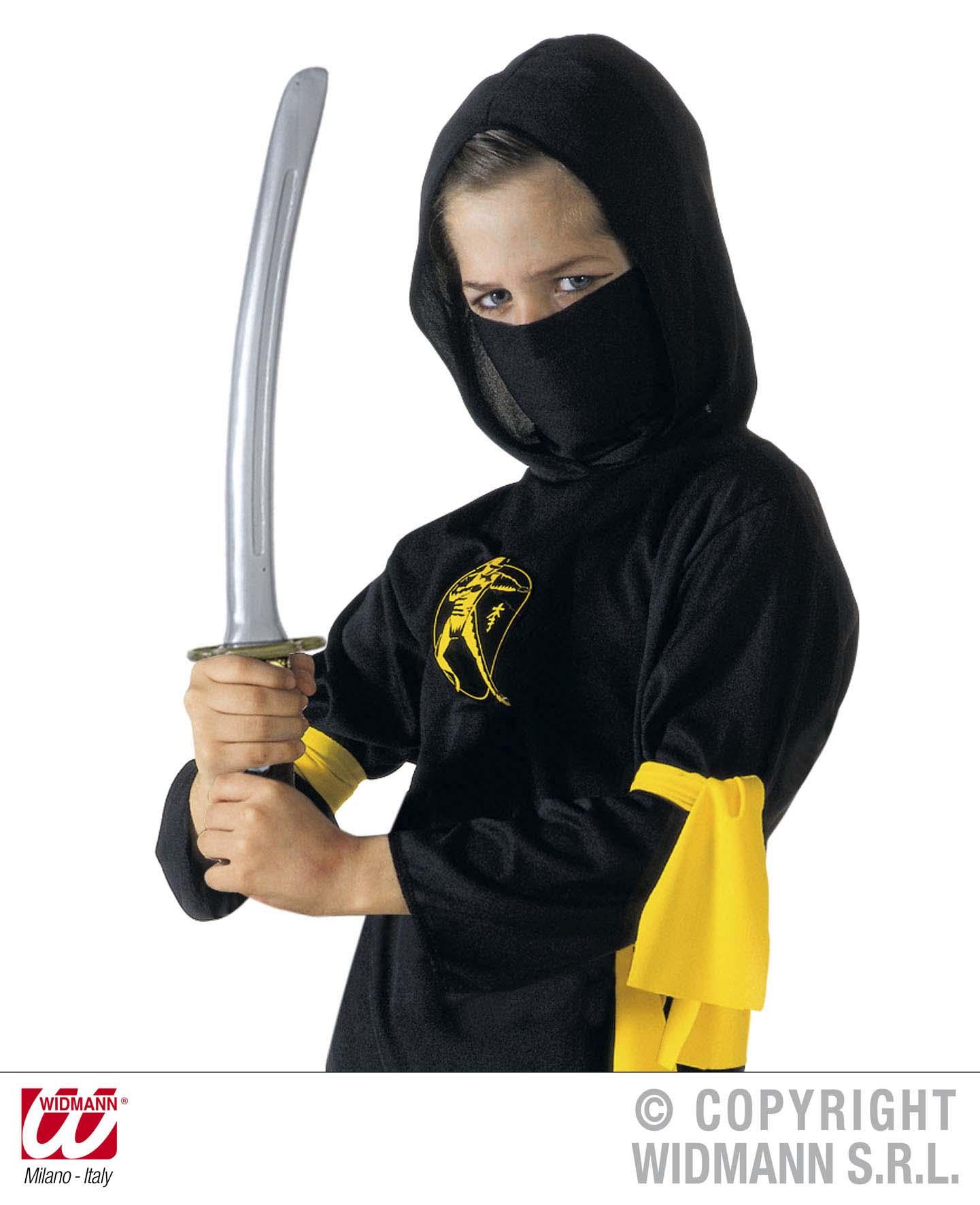 Ninja Messer, mit Schwertscheide, Schwert  40 cm, Asien, Japan, Karneval