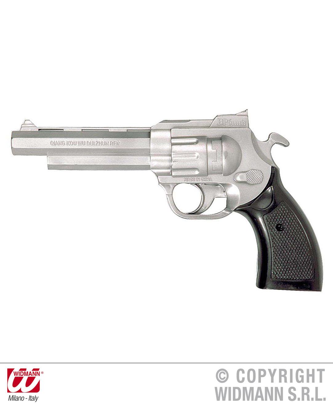 Pistole silber  Colt , Cowboy, Gangster, Polizist, Sheriff  2775