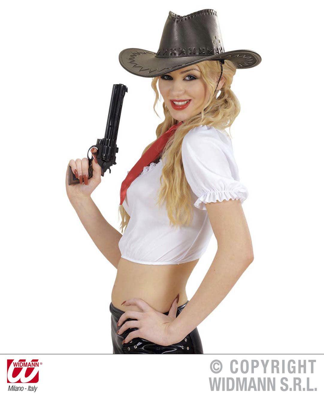 Vodka PISTOLE 30cm zum Füllen ,Cowboy, Gangster, Polizisten