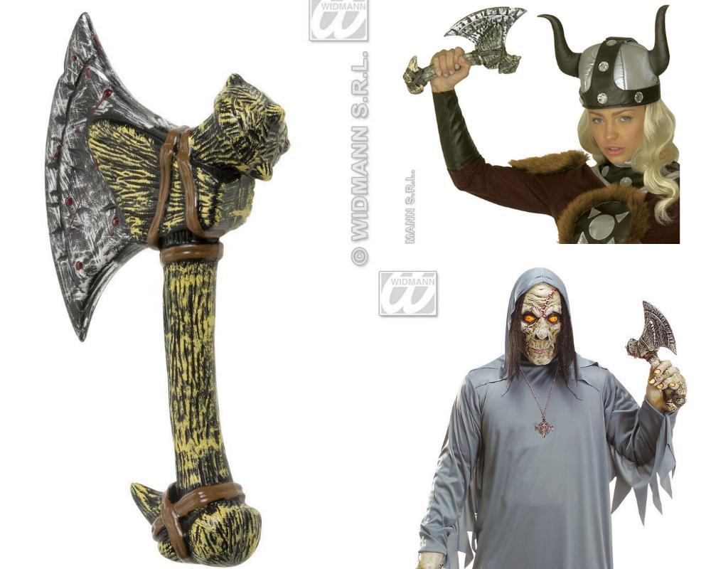 AXT Knochenaxt, Neandertaler, Ritter, Zombie Zubehör Halloween