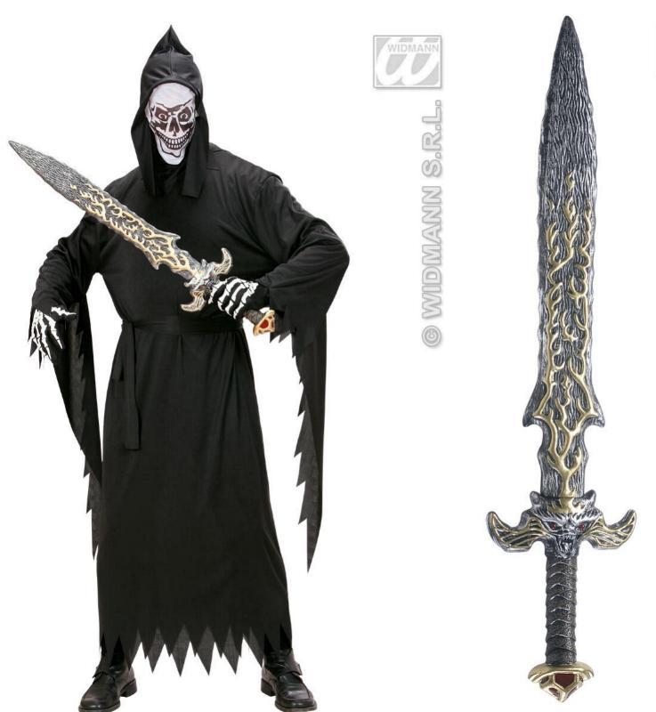 Großes mystisches SCHWERT, 83 cm, Grusel, Monster, Krieger Spielschwert