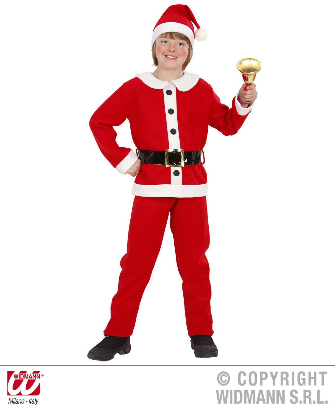 4 tlg Weihnachtskostüm, Anzug komplett Kinder Gr. 116, 128