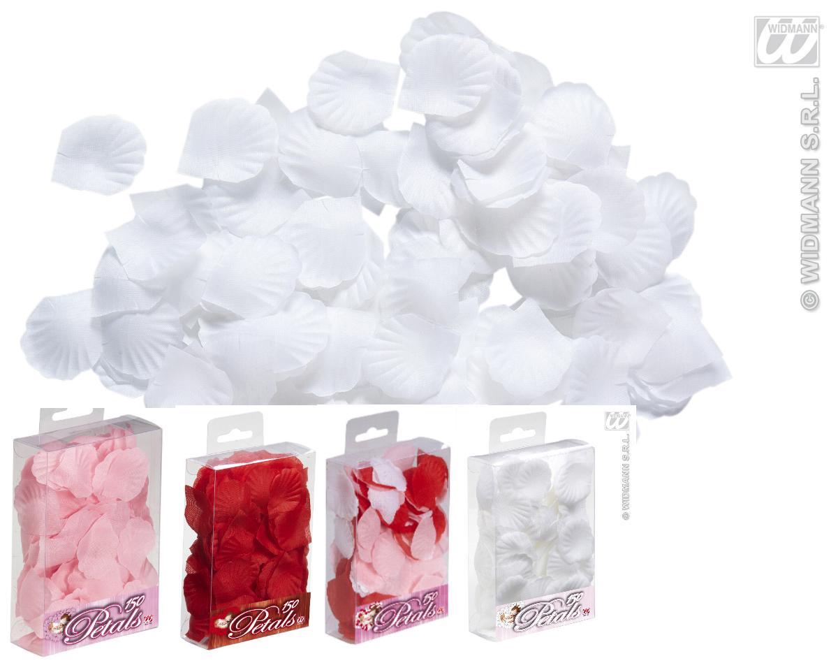 150 Rosenblätter, Blüten Tisch Deko,Hochzeit weiß, rosa, rot, bunt 2347