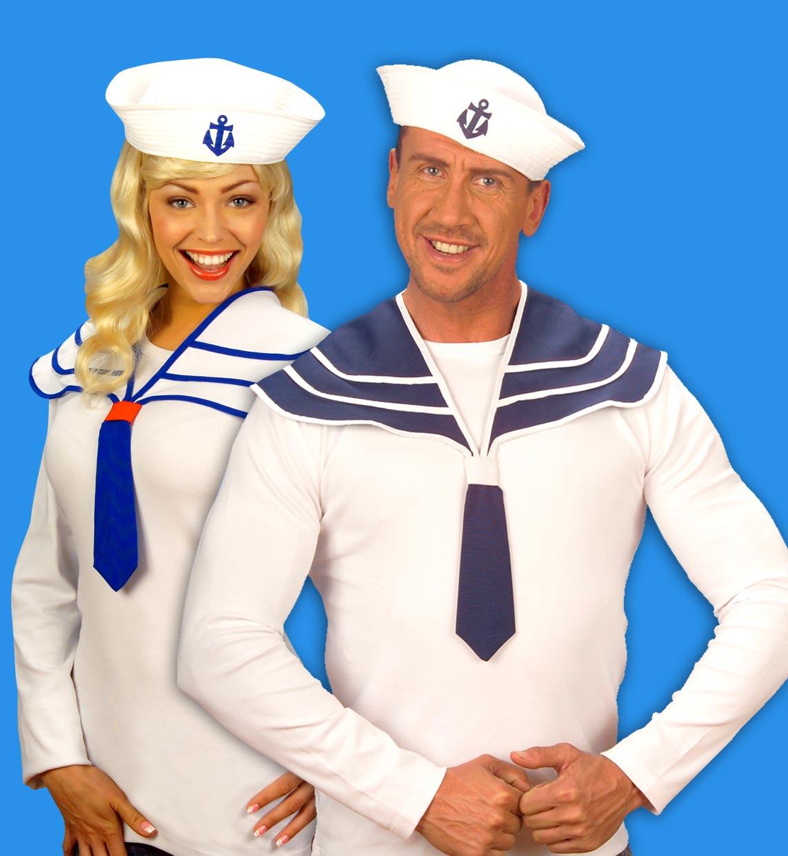 marine seemann matrosen hut sailor minihut wei damen mit spange 9514. Black Bedroom Furniture Sets. Home Design Ideas