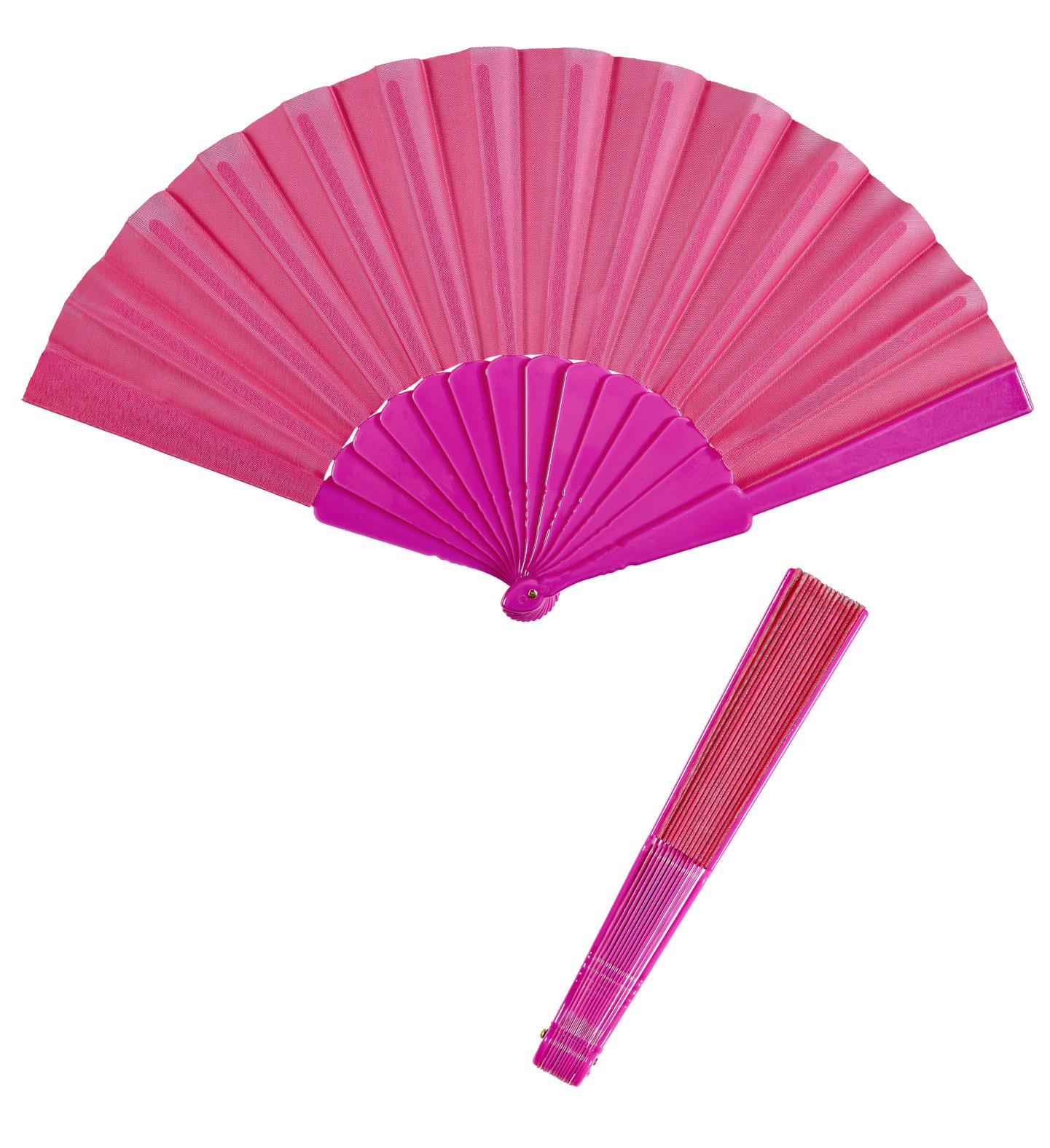 handf cher schwarz rot weiss pink klappf cher faltf cher stoff deko ebay. Black Bedroom Furniture Sets. Home Design Ideas